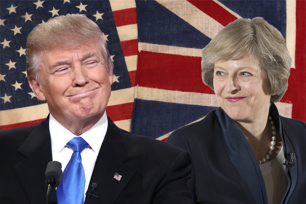 Trump's and May's Special Relationship